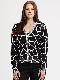 MICHAEL MICHAEL KORS, Salon Z - Giraffe-Print Cardigan