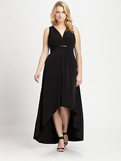 MICHAEL MICHAEL KORS, Salon Z - Sleeveless Pleat-Front Maxi Dress