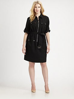 MICHAEL MICHAEL KORS, Salon Z - Belted Shirtdress
