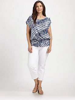 MICHAEL MICHAEL KORS, Salon Z - Striped Top