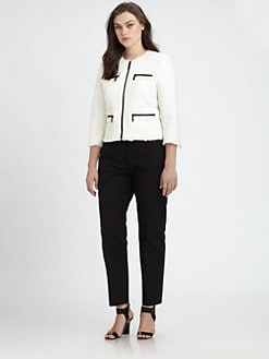 MICHAEL MICHAEL KORS, Salon Z - Frayed-Tweed Jacket