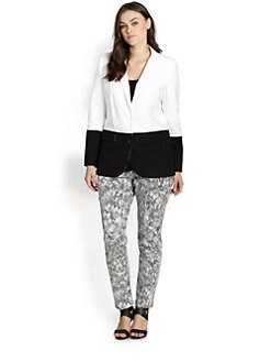 MICHAEL MICHAEL KORS, Salon Z - Colorblock Stretch Blazer