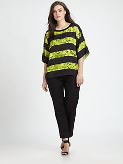 MICHAEL MICHAEL KORS, Salon Z - Chatworth-Print Oversized Tee
