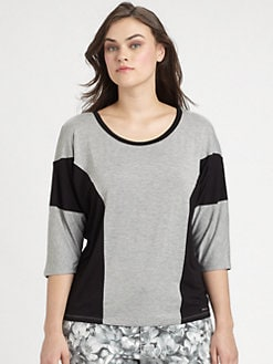 MICHAEL MICHAEL KORS, Salon Z - Jersey Colorblock Top
