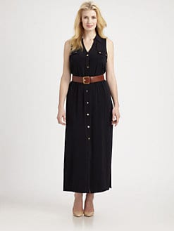 MICHAEL MICHAEL KORS, Salon Z - Maxi Shirtdress