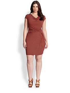 MICHAEL MICHAEL KORS, Salon Z - Cowlneck Jersey Dress