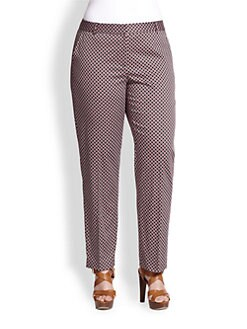 MICHAEL MICHAEL KORS, Salon Z - Printed Welles Ankle Pants