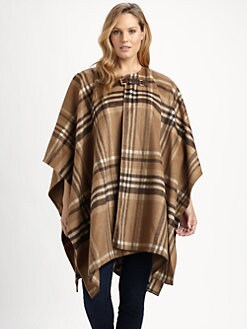 MICHAEL MICHAEL KORS, Salon Z - Plaid Blanket Coat