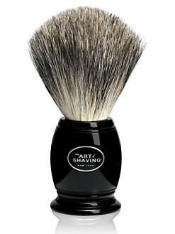 The Art of Shaving - Shave Brush Pure Badger Black