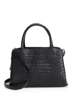 Medium Center Zip Shoulder Bag 0478306872612