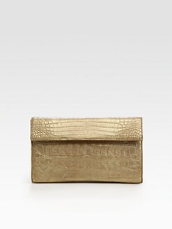 Nancy Gonzalez - Crocodile Box Clutch