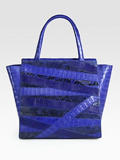 Nancy Gonzalez - Mixed-Media Tote
