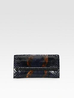 Nancy Gonzalez - Python Bar Clutch