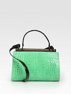 Nancy Gonzalez - Crocodile & Stingray Frame Satchel