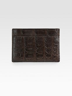 Nancy Gonzalez - Crocodile Card Case