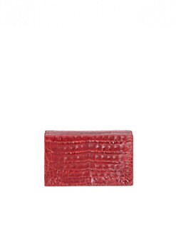 Nancy Gonzalez - Croc Box Clutch