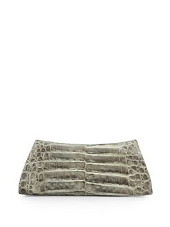 Nancy Gonzalez - Croc Curve Razor Clutch