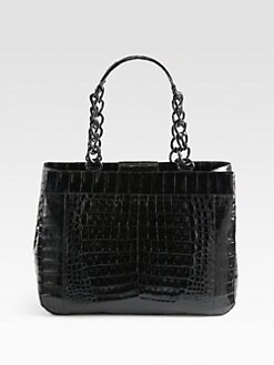 Nancy Gonzalez - Crocodile Large Chain Tote