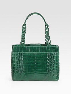 Nancy Gonzalez - Crocodile Small Shoulder Tote