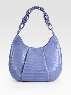 Nancy Gonzalez - Crocodile Hobo Bag