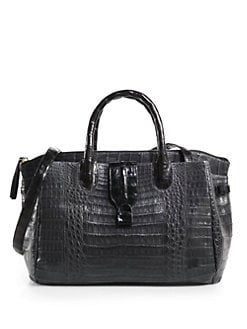 Nancy Gonzalez - Crocodile Medium Satchel
