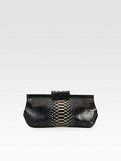 Nancy Gonzalez - Python & Crocodile Clutch