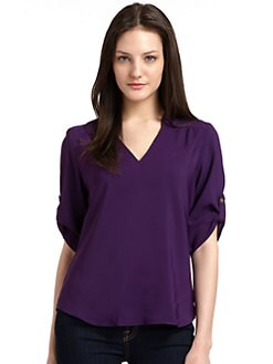 A new york - Staci V-Neck Blouse