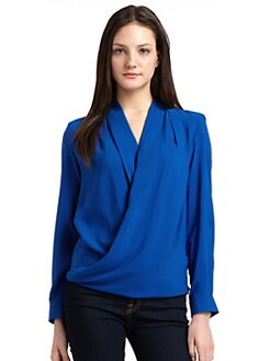 A new york - Manchester Wrap Blouse