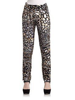5/48 - Abstract Animal Print Pants