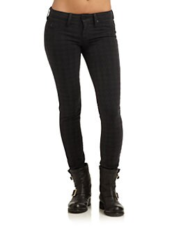 GRAY Saks Fifth Avenue - Soho Super Skinny Leg Denim Jeans