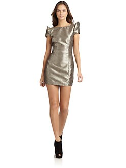 5/48 - Mirage Metallic Cocktail Dress