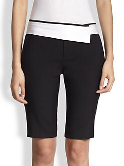 A.L.C. - Towner Wool-Blend Bermuda Shorts
