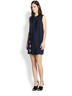 3.1 Phillip Lim - Silk Glowstick Side-Print Dress