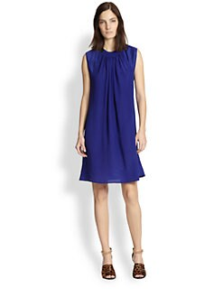 3.1 Phillip Lim - Silk Crepe de Chine & Jersey Dress