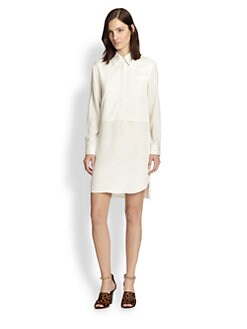 3.1 Phillip Lim - Silk Layered Shirt Dress