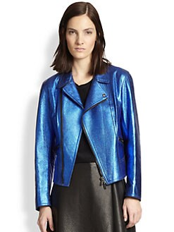 3.1 Phillip Lim - Leather Boxy Moto Jacket