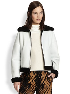 3.1 Phillip Lim - Shearling Aviator Jacket