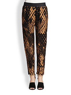 3.1 Phillip Lim - Felted Jacquard Slim Pants
