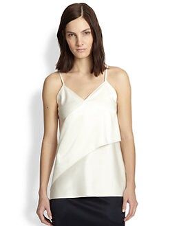 3.1 Phillip Lim - Bonded Satin Slip Top