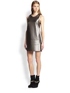 3.1 Phillip Lim - Leather Shift Dress