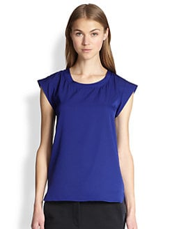 3.1 Phillip Lim - Stretch Silk Core Muscle Tee