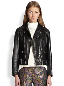 3.1 Phillip Lim - Leather Sculpted Moto Jacket