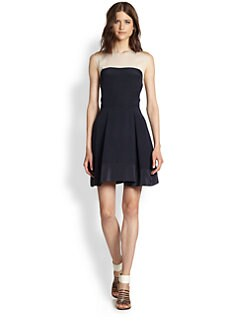 3.1 Phillip Lim - Silk Colorblock Dress