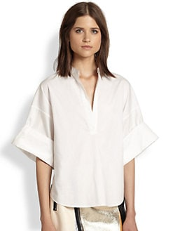 3.1 Phillip Lim - Wide-Sleeved Cotton Shirt
