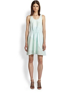 3.1 Phillip Lim - Perforated Paneled Dress