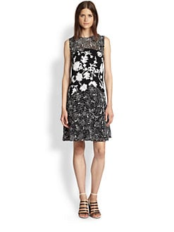 3.1 Phillip Lim - Silk Sequined Embroidered Dress