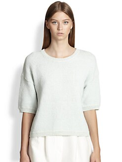 3.1 Phillip Lim - Grid-Knit Sweater