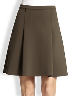 J Brand Ready-To-Wear - Kimberly Scuba A-Line Skirt