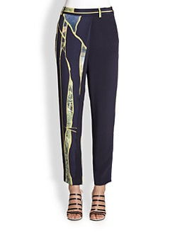 3.1 Phillip Lim - Break Through Silk Pants