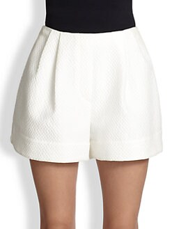 3.1 Phillip Lim - Diamond-Patterned Jacquard Shorts